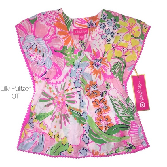 Lilly Pulitzer for Target Other - Lilly Pulitzer Beach Cover Up Dress Nosey Posey 3T